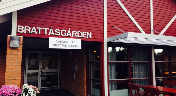 Brattåsgården, vallokal valdistrikt 202